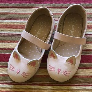 Cat and Jack Size 10 Ballet Flats